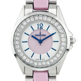 Charles Latour Voluta Ladies Pearlized Dial Watch