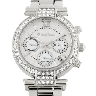 Lucien Pezzoni La Pergola Multifunction Ladies Watch Swarovski Elements Crystal on Bezel