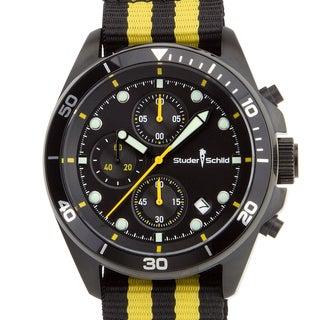 Studer Schild Morse Men's Chornograph Sport Watch, Nylon NATO Strap