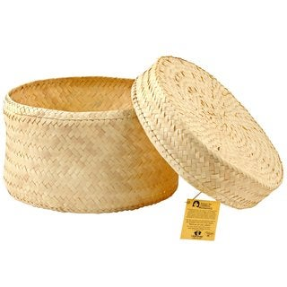 1 World Sarongs Hand-Woven Hat Gift Box (Indonesia)