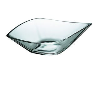 Majestic Gifts Glass 14.75-inch x 8.7-inch Bowl