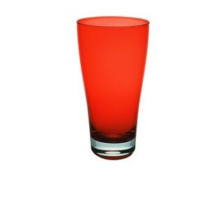 Majestic Gifts Orange Glass 16-ounce Juice Glass (Pack of 6)