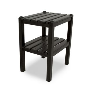 Two Shelf Side Table