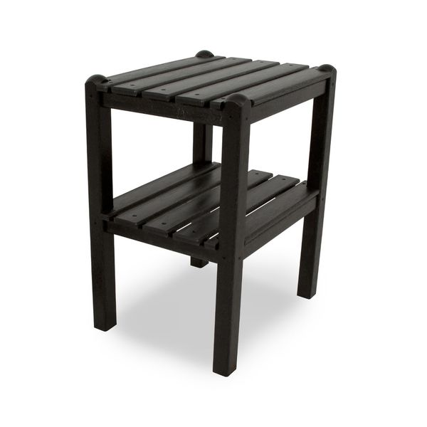 POLYWOOD® Two Shelf Side Table