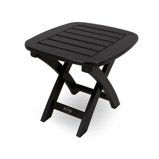 Nautical 21-inch x 18-inch Side Table