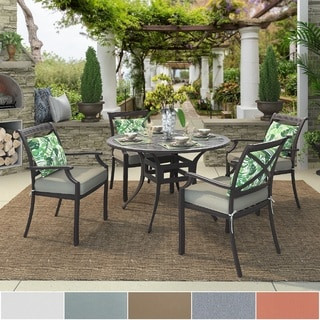 Matira Metal Outdoor Round Bistro Dining Set by iNSPIRE Q OASIS