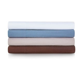 Woven Heavyweight Portuguese Flannel Sheet Set