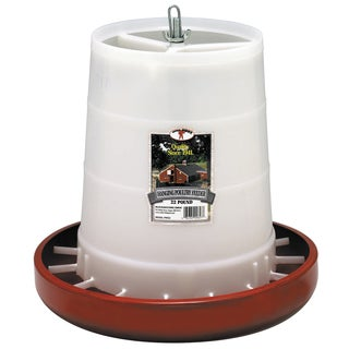 Pet Lodge 22 Lb Red Plastic Hanging Feeder