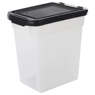 Iris USA INC 10 Lb Airtight Pet Food Storage Container  sc 1 st  Overstock.com & Shop Aspen Pet Plastic Pet Food Storage - Free Shipping On Orders ...