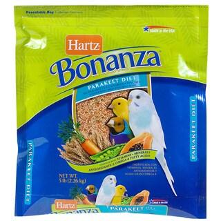Hartz 4 Lb Nutrition Bonanza Parakeet Gourmet Diet