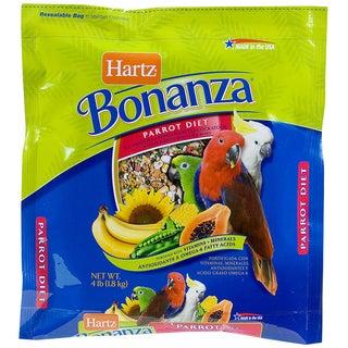 Hartz 4 Lb Nutrition Bonanza Parrot & Other Large Hookbill Food