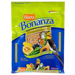 Hartz 4 Lb Nutrition Bonanza Gourmet Diet For Birds