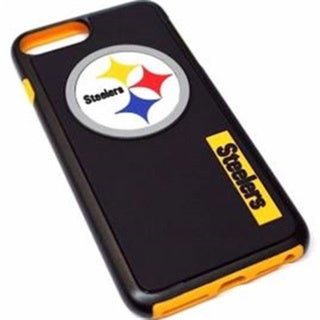 Forever Collectibles NFL-licensed Pittsburgh Steelers Dual-hybrid Case for Apple iPhone 7