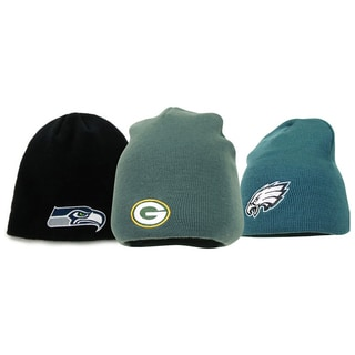 NFL Football Teams Logo Multicolored Wool/Acrylic Beanie Hat