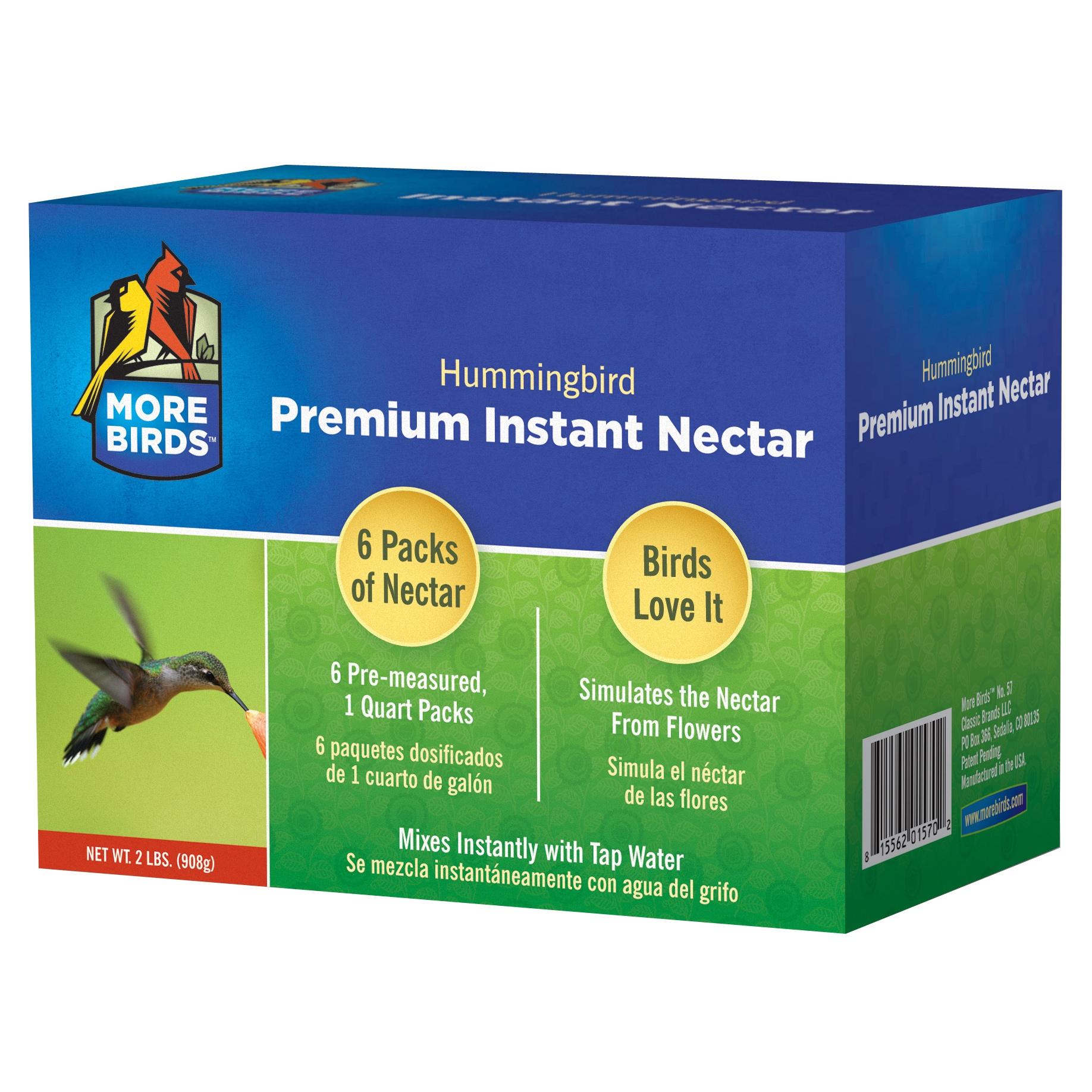 Classic Brands More Birds 2 Lb 6 Pre-Measured Premium Hum...