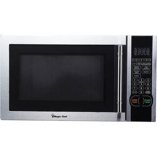 Magic Chef Stainless Steel Microwave Oven