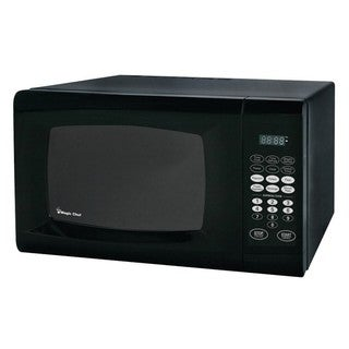Magic Chef 0.9 Microwave Oven, Black