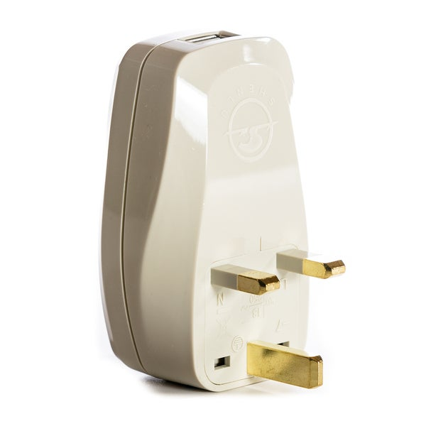Shop OREI 3 In 1 UK Travel Adapter Plug With USB And Surge