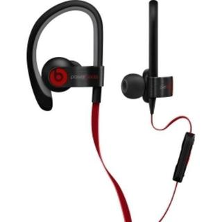 Refurbished Powerbeats by Dr. Dre Black Clip-on Earbud Headphones