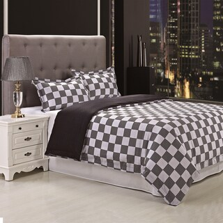 Superior Fox 300 Thread Count Reversible 3-piece Cotton Duvet Cover Set