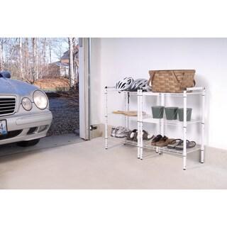 The Art of Storage White Steel 3-tier Quick Rack (Set of 2)