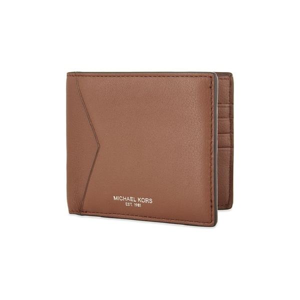 d04e1220a37e ... Men s Wallets. Michael Kors Men  x27 s Bryant Luggage Brown Leather  Billfold Wallet