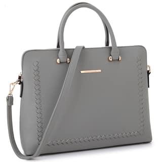 Dasein Front Sching Women S Shoulder Briefcase
