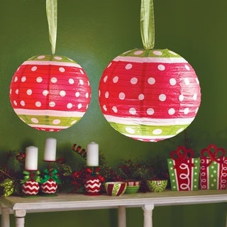 Merry Magic Paper Lantern Decor