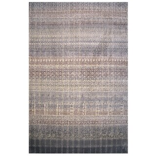 Soho Collection Boho Pattern Multicolored Rug - 8' x 11'