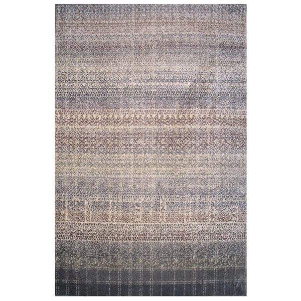 Soho Collection Boho Pattern Multicolored Rug,