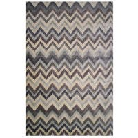 Soho Collection Zigzag Multicolored Rug,