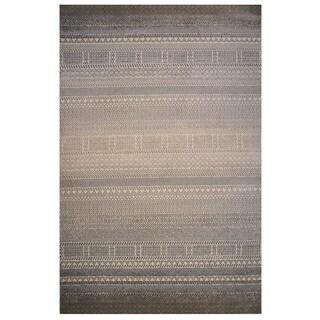 Tibet Collection Boho Striped Rug, - 5' x 8'