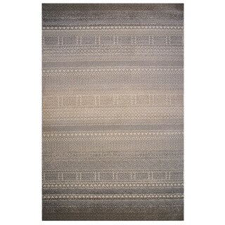 Tibet Collection Boho Striped Rug, 2 ft. x 8 ft.