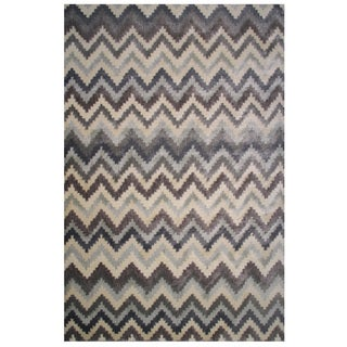 Soho Collection Zigzag Multicolored Rug, 2 ft. x 8 ft