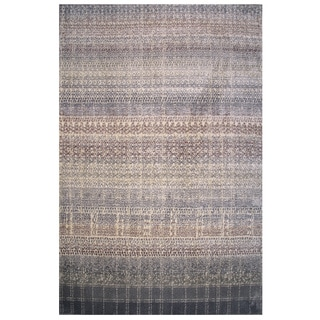 Soho Collection Boho Pattern Multicolored Rug, 2 ft. x 8 ft