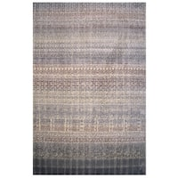 Soho Collection Boho Pattern Multicolored Rug - 2' x 8'