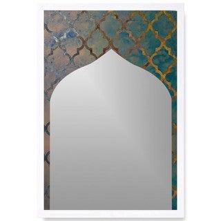 Oliver Gal 'Arabesque Mirror' Mirror Art