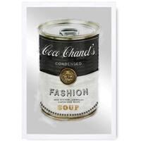 Oliver Gal 'Fashion Soup' Mirror Art