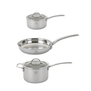 Lenox  5-Piece Tri-Ply Stainless Steel Cookware Set