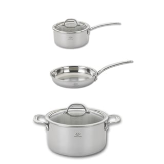 Lenox 5-Piece Tri-ply Stainless Steel Cookware Starter Set