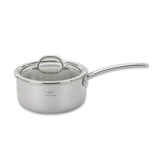 Lenox 2.0-Quart Tri-Ply Stainless Steel Sauce Pan and Lid