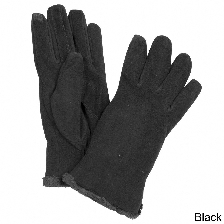 Isotoner Women's Touchscreen Microluxe Lined Fleece Glove...