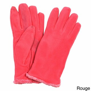 Isotoner Women's Touchscreen Microluxe Lined Fleece Gloves (2 options available)