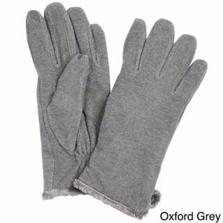 Isotoner Women's Touchscreen Microluxe Lined Fleece Gloves