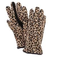 Isotoner Women's Touchscreen Microluxe Lined Fleece Gloves