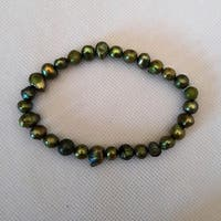 Handmade Cultured Freshwater Pearl Bracelet (United States)