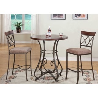 Hamilton 3-Piece Pub Height Dining Table Set