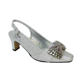 e2d558ed351 ... Women Extra Wide Width Low Heel Dress Slingback · Quick View