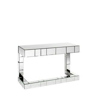 Statements by J Bruelle Mirrored Glass Desk