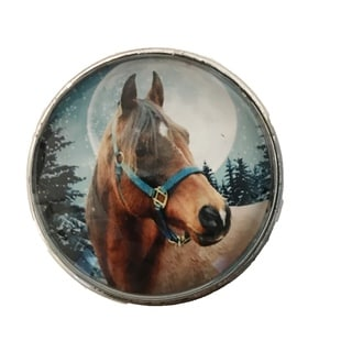 Horse Drawer Pulls, Knobs - Pack of 6